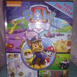 "NICKELODEON PAW PATROL* ""FIRST LOOK & FIND"" BOOK"